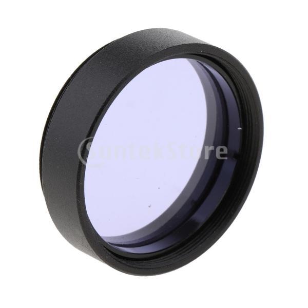 1.25インチ望遠鏡接眼レンズカラーフィルターセットムーンプラネットスターパープル