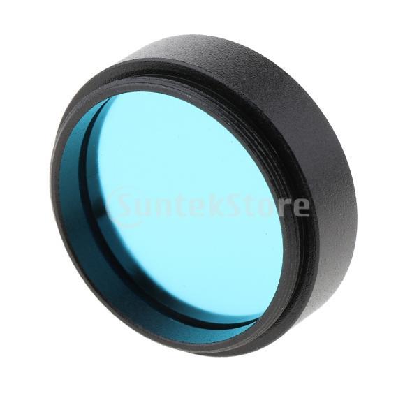 1.25インチ望遠鏡接眼レンズカラーフィルターセットムーンプラネットスターブルー