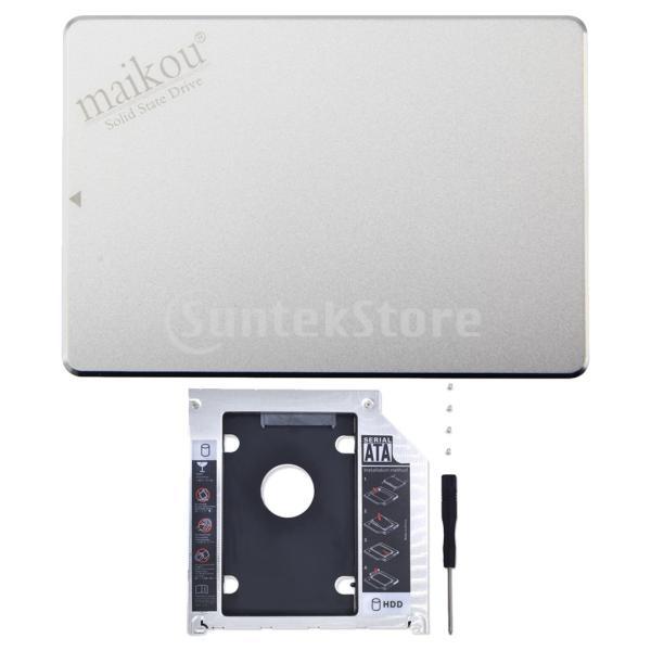 FLAMEER SSD 2.5インチ ソリッドステートドライブ SATA3.0 6.0Gb/S 9.5mmブラケット付き 120GB/240GB/480GB/960GB - 120GB