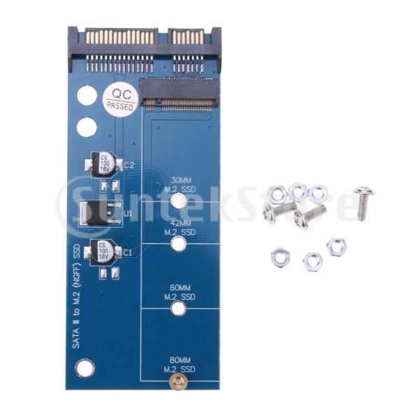 SSD 変換アダプタカード NGFF  M.2 MSATA to  SATA PCIE 3.0 変換インタフェースカード
