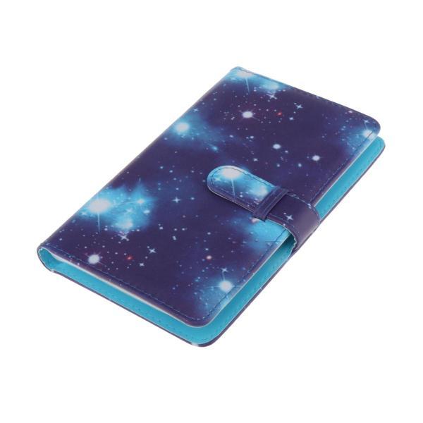 カードブック3インチフィルムスクラップブック用大容量96ポケットフォトアルバム輝く星空