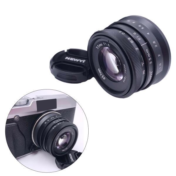 35mm f / 1.6APS-C富士フイルムXマウント用手動固定レンズX-A3X-A5 X-H1 X-E2 X-E3 X-A10 X-A2