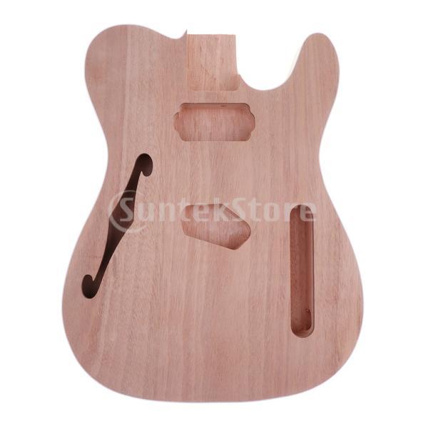 テレキャスターギター本体未完成のDIYギターボディーDIYギターパーツアクセサリー初心者対応