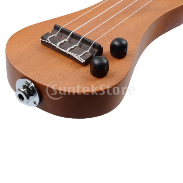 B Blesiya ウクレレ 電動 ハワイギター 21インチ ローズウッド製 ウクレレケース付き|stk-shop|07