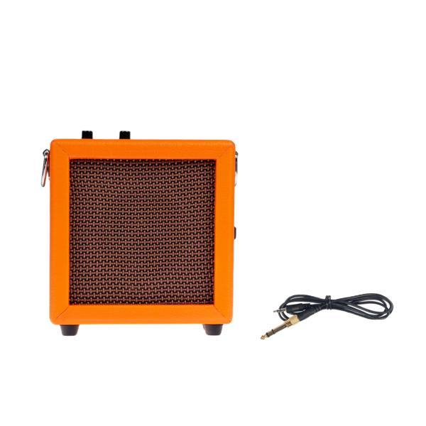 ミニ3Wギターアンプアンプスピーカーオレンジ