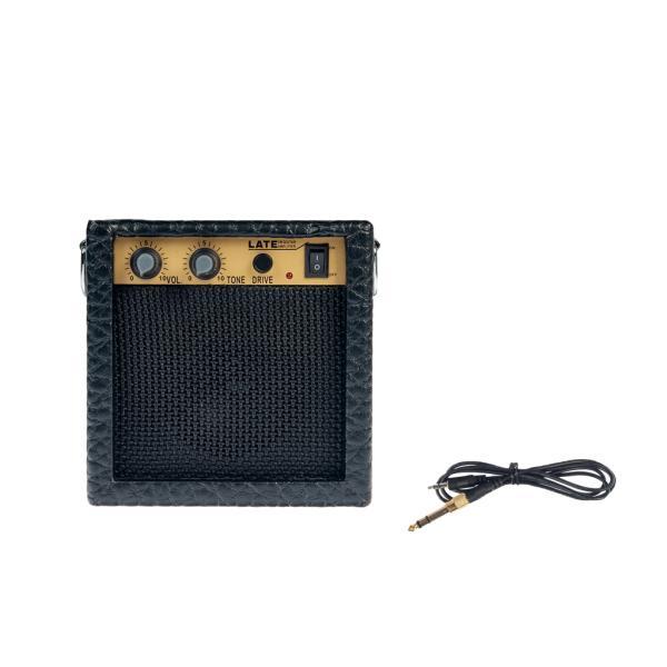 ミニ3Wギターアンプアンプスピーカーブラック