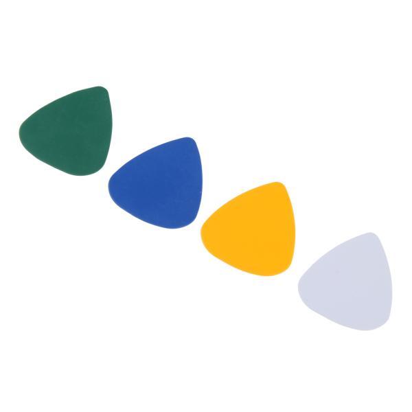 アコースティックエレキギターベースウクレレ用4ピースギターピックプレクトラム