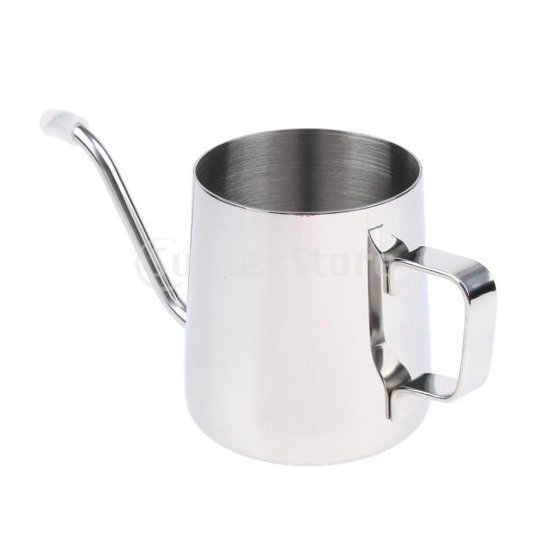送料無料 Fityle コーヒードリップポット  コーヒーケトル 多用途 便利 実用的  350ml|stk-shop|05