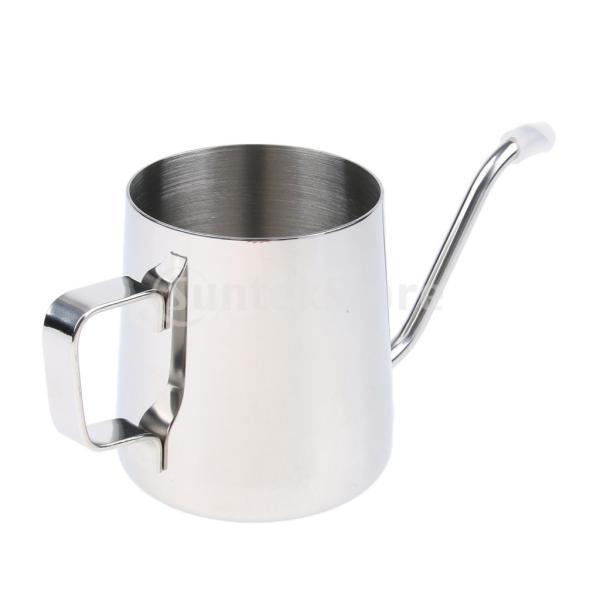 送料無料 Fityle コーヒードリップポット  コーヒーケトル 多用途 便利 実用的  350ml|stk-shop|08