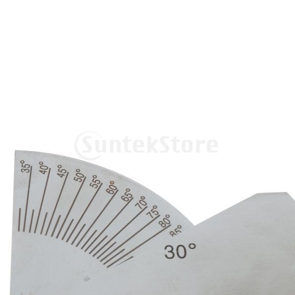 SKEW-Tフィレット溶接ゲージ溶接エンジェル検査ゲージ尺骨試験定規|stk-shop|03