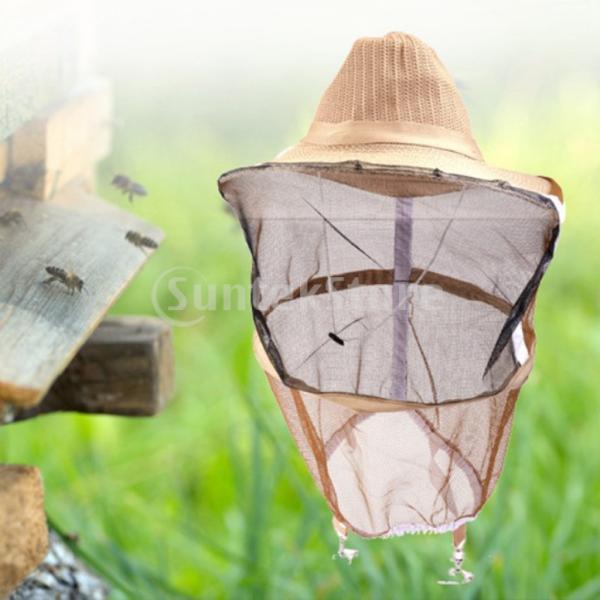 養蜂ベールハット 養蜂器具 防虫用具 養蜂ツール 防護 帽子 保管便利 防虫用具 使いやすさ