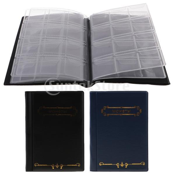 120ポケット10ページコイン収納アルバムペニー収集ホルダーウォレットブック|stk-shop|12