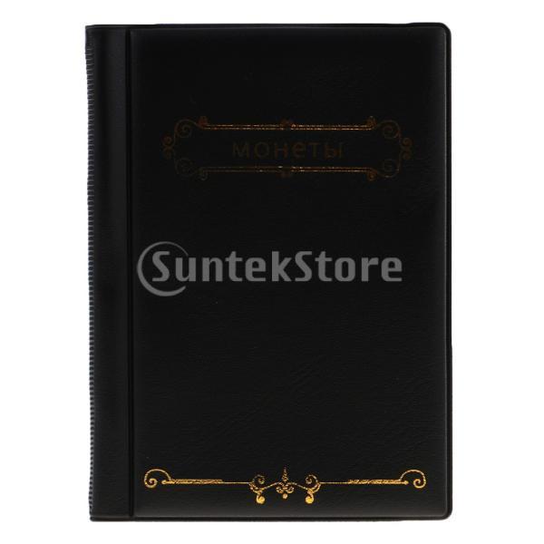 120ポケット10ページコイン収納アルバムペニー収集ホルダーウォレットブック|stk-shop|06