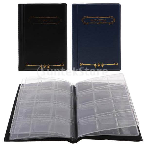 120ポケット10ページコイン収納アルバムペニー収集ホルダーウォレットブック|stk-shop|07