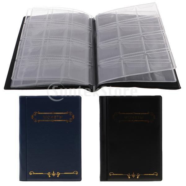 120ポケット10ページコイン収納アルバムペニー収集ホルダーウォレットブック|stk-shop|09