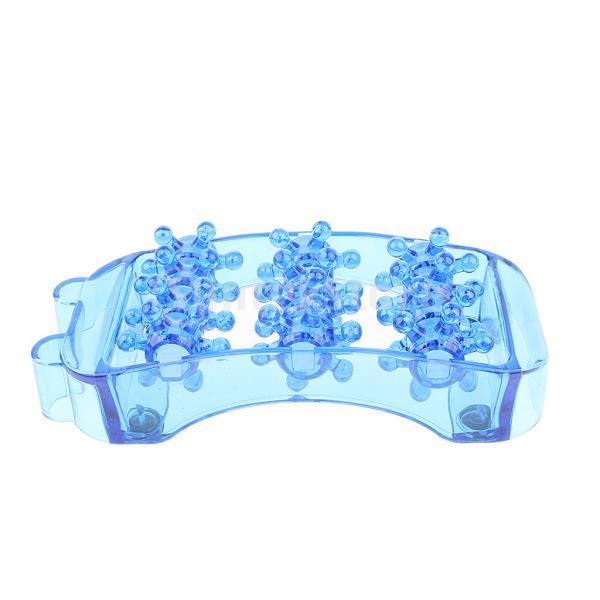 2個のプラスチックフットマッサージローラートリガーポイント自己マッサージツール|stk-shop|07