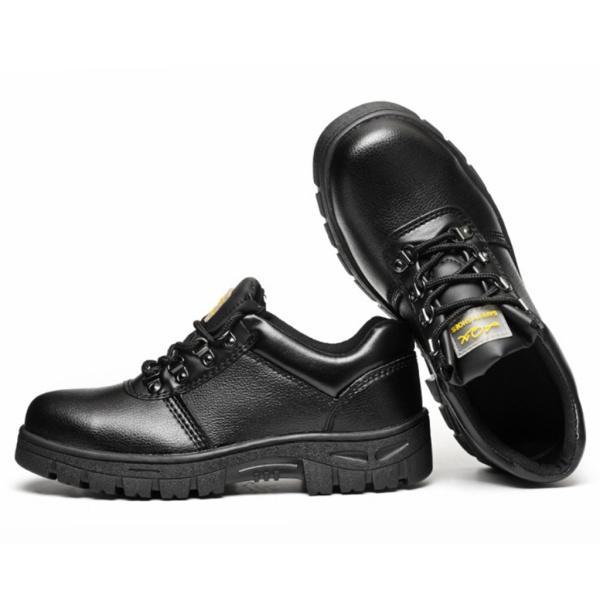 安全靴 防護靴 作業靴 ワークブーツ スチールトウ 防滑 防水 耐臭性 通気性 ブラック 全6サイズ