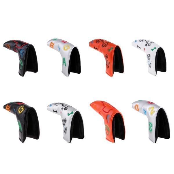 防水PUレザーゴルフブレードパターヘッドカバープロテクター|stk-shop|06