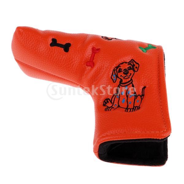 防水PUレザーゴルフブレードパターヘッドカバープロテクター|stk-shop|08