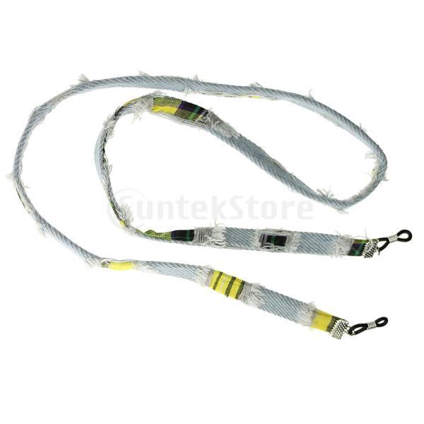 レトログラインドオールドメガネロープコード眼鏡紐保持器