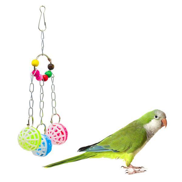全5種 鳥 オウム 吊下げタイプ玩具 止まり木 ベル 噛む玩具 歯のケア用品 訓練 おもちゃ