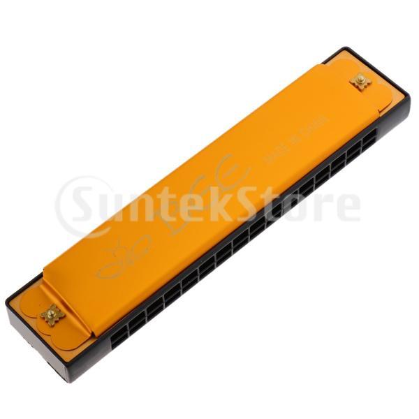 複音ハーモニカハーモニカCキー16穴ABS樹脂製高気密性初心者向け吹きやすい全4色
