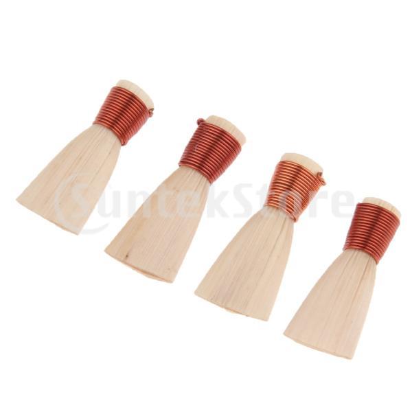 ホイッスル 笛 伝統楽器 天然素材 パフォーマンス 4個