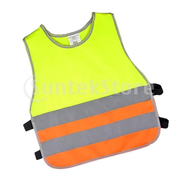 子供のための反射安全ベストの高い可視性のジャケットの保証衣類