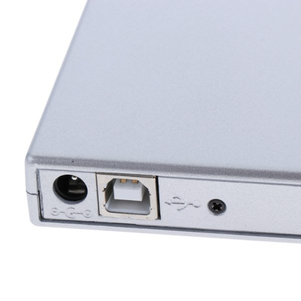 外付けUSB 2.0 CD DVD RWドライブ  光学式ドライブ 読取・書込 PC ラップトップ用  スリム 軽量|stk-shop|06