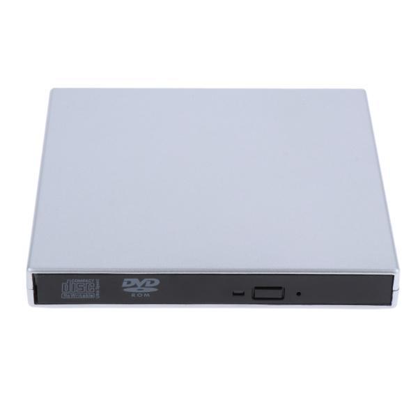 外付けUSB 2.0 CD DVD RWドライブ  光学式ドライブ 読取・書込 PC ラップトップ用  スリム 軽量|stk-shop|08