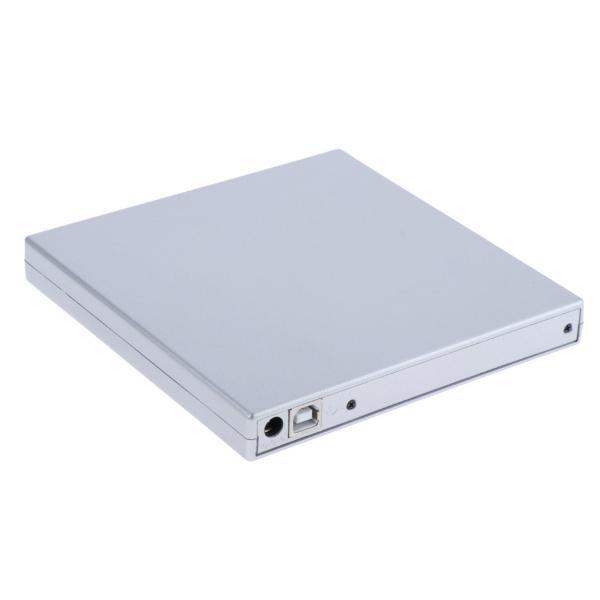 外付けUSB 2.0 CD DVD RWドライブ  光学式ドライブ 読取・書込 PC ラップトップ用  スリム 軽量|stk-shop|10