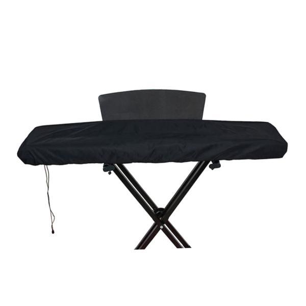 61/88のキーのためのピアノキーボードの塵監視カバー-電気/デジタルピアノ保護キーボードカバー、クラスプを締める伸縮性があるコード stk-shop 03