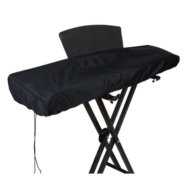 61/88のキーのためのピアノキーボードの塵監視カバー-電気/デジタルピアノ保護キーボードカバー、クラスプを締める伸縮性があるコード stk-shop 04