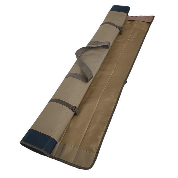 ロッドホールドオール130cmロッドバッグラゲッジ収納カープフィッシングロールアップタックルバッグ