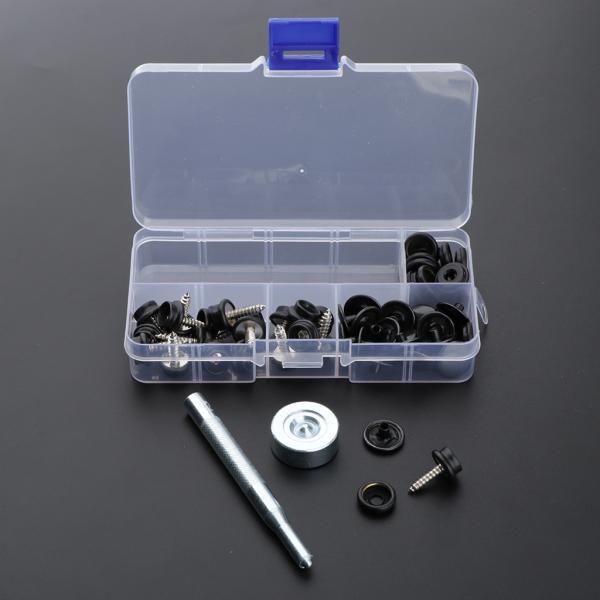 レザークラフト 工具 スナップ ボタン 打ち工具 パーツ DIY 手作り ハンドメイド 全2色