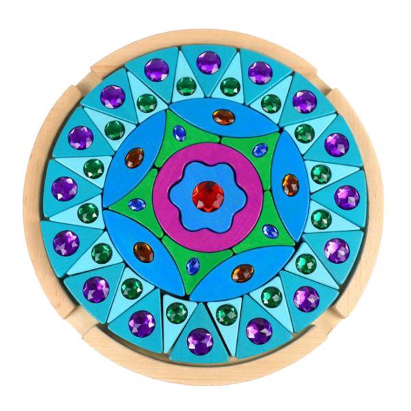 ジグソーパズルおもちゃの色の性交教育玩具ホームスクールビルディングブロック