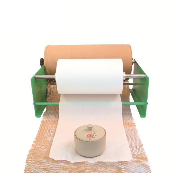 耐久性のあるジャンボクラフト紙ロールブラウン30メートル/50メートルハニカムクッションラップアンチショックのため脆弱/繊細なアイテム包装ギフトラッ