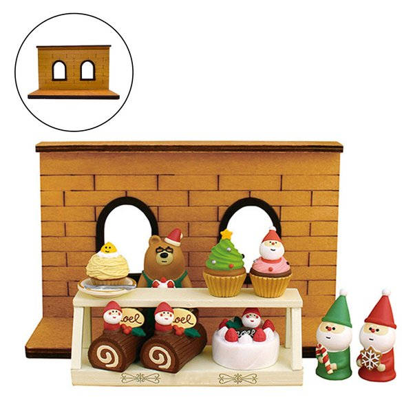 ドールハウス木製窓壁フレーム背景ドールハウスの装飾品質の木材.耐久性と巧みに内装