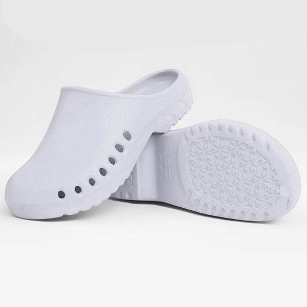 1ペア スリッパ ナースシューズ 作業靴 看護靴 通気性 快適 ホテル ホーム ルームシューズ ユニセックス