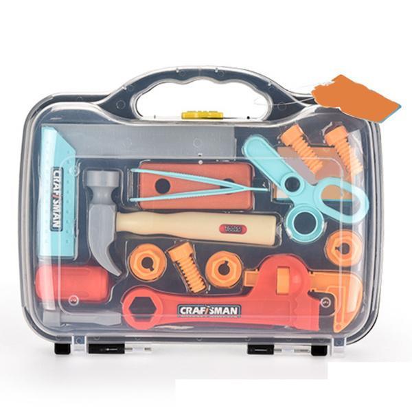 メンテナンス修理おもちゃシミュレーション幼児は遊び学習ツールボックスプレイハウス色の誕生日プレゼントアクセサリーのふりをします