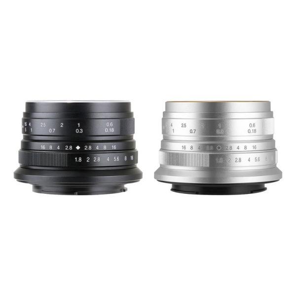 七工匠 7artisans 25mm F1.8 単焦点レンズ (ブラック or シルバー)
