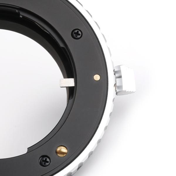 K&F Concept KF-CGE マウントアダプター(コンタックスGマウントレンズ → ソニーEマウント変換)フォーカスリング付き