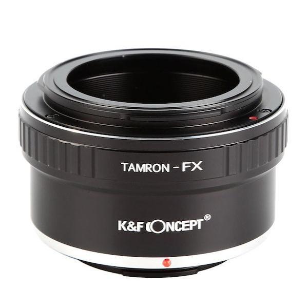K&F Concept レンズマウントアダプター KF-TRX (タムロンアダプトールマウントレンズ → 富士フィルムXマウント変換)