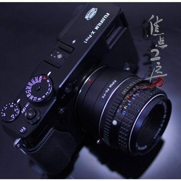 KIPON P/K-FX ペンタックスKマウントレンズ - 富士フィルムXマウントアダプター