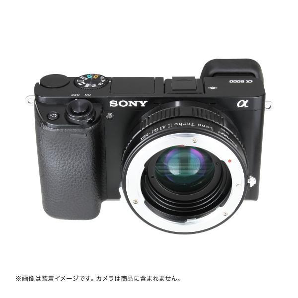 中一光学│ZHONG YI OPTICS Lens Turbo II N/G-NEX ニコンFマウント/Gシリーズレンズ - ソニーEマウント フォーカルレデューサーアダプター