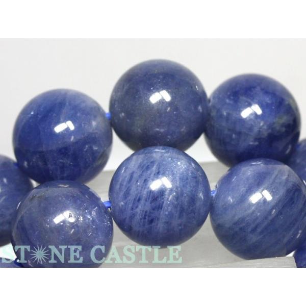 高品質 天然石 ブレスレット タンザナイト (3A) (約12〜12.5mm) (ケース付) パワーストーン