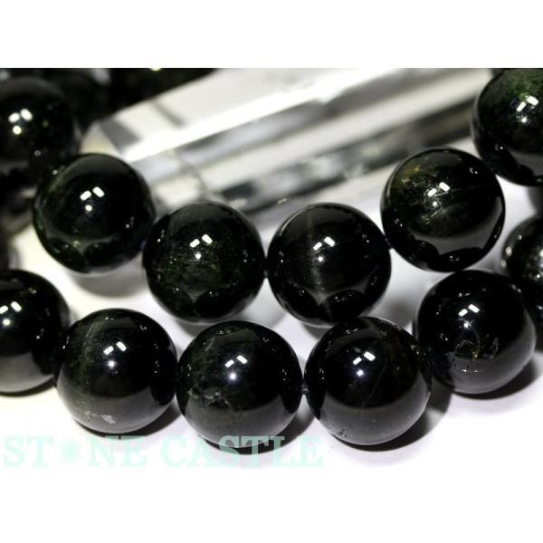 高品質 ブレスレット ブラックスター (3A) (約13.5〜14mm) (ケース付) 天然石 パワーストーン