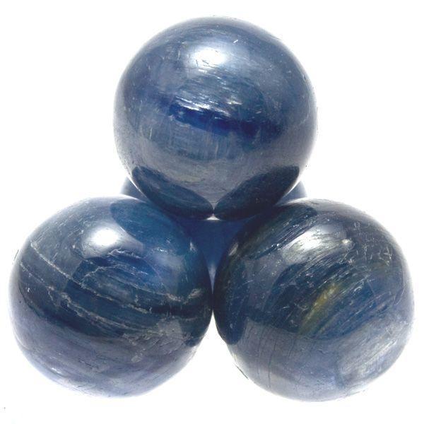 丸ビーズ カイヤナイト (3A) 12mm (ブラジル産) 1粒売り 天然石 パワーストーン/ビーズ