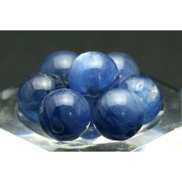 丸ビーズ カイヤナイト (3A) 6mm (ブラジル産) 1粒売り 天然石 パワーストーン/ビーズ