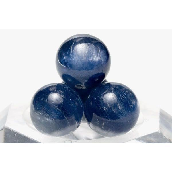 丸ビーズ カイヤナイト (4A) 10mm (ブラジル産) 1粒売り 天然石 パワーストーン/ビーズ